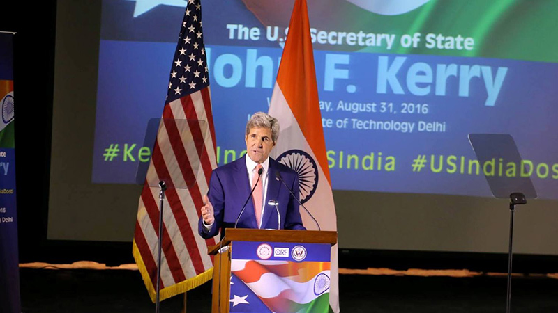 John Kerry, LEMOA, Pakistan, FTA, US-India