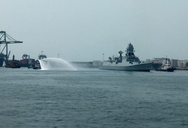 Indian Navy, INS Chennai, Quad, Harsh Pant