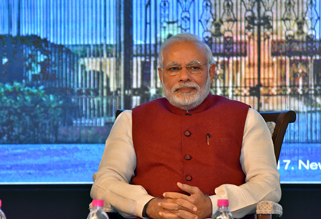 Modi, Modi at three, Raisina Dialogue, Raisina