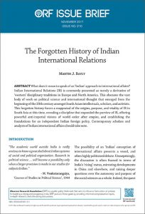 India & International Relations