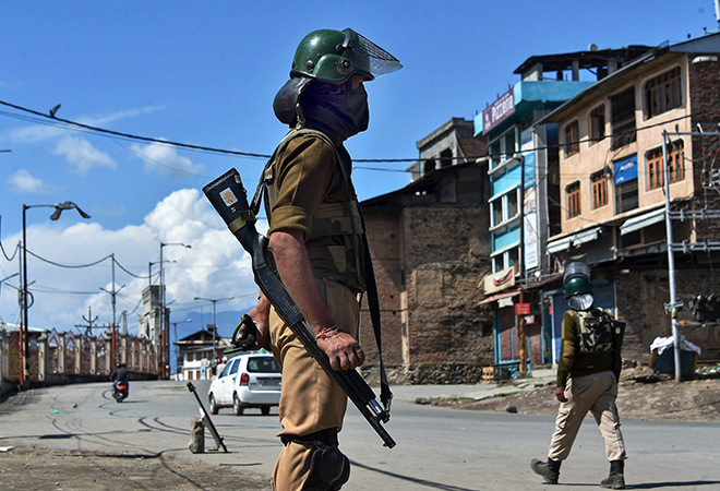 Counterinsurgency,Jammu and Kashmir,Violent Protests