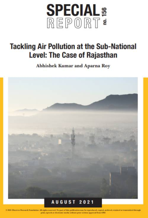 Air Pollution,Air Quality,COVID19,Financing Green Transitions,Rajasthan